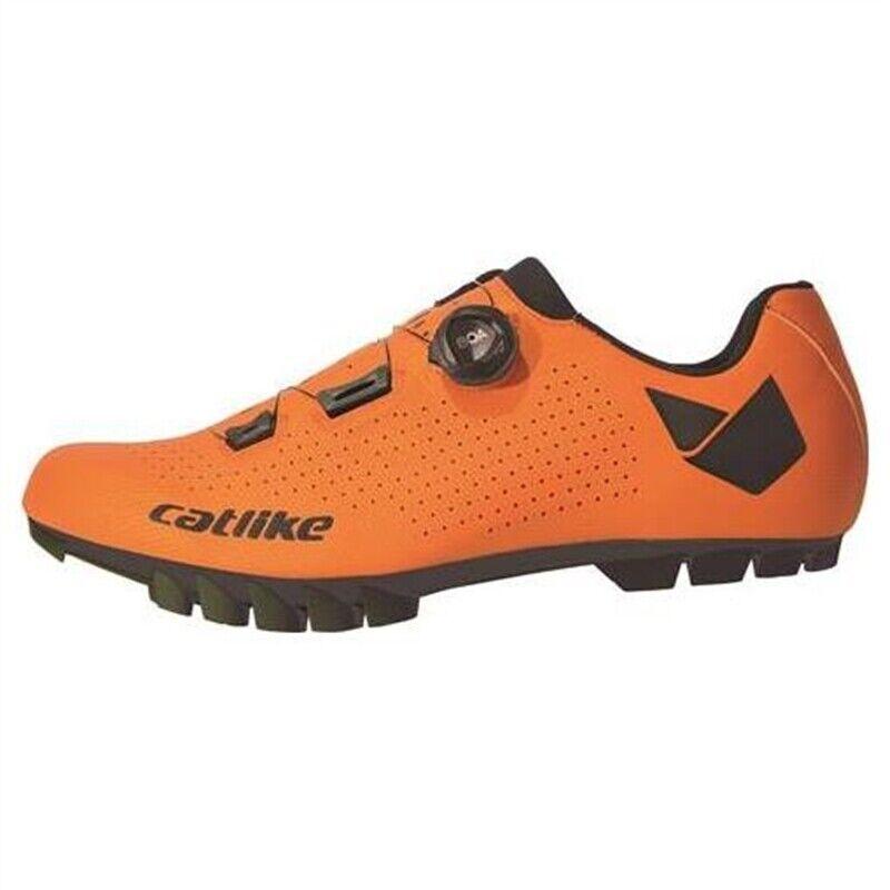 Catlike Whisper MTB Oval orange shoes