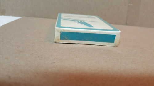 """NEW-SEALED LOT1 /""""RARE/"""" VINTAGE TIA TRANS INTERNATIONAL AIRLINES PLAYING CARDS"""
