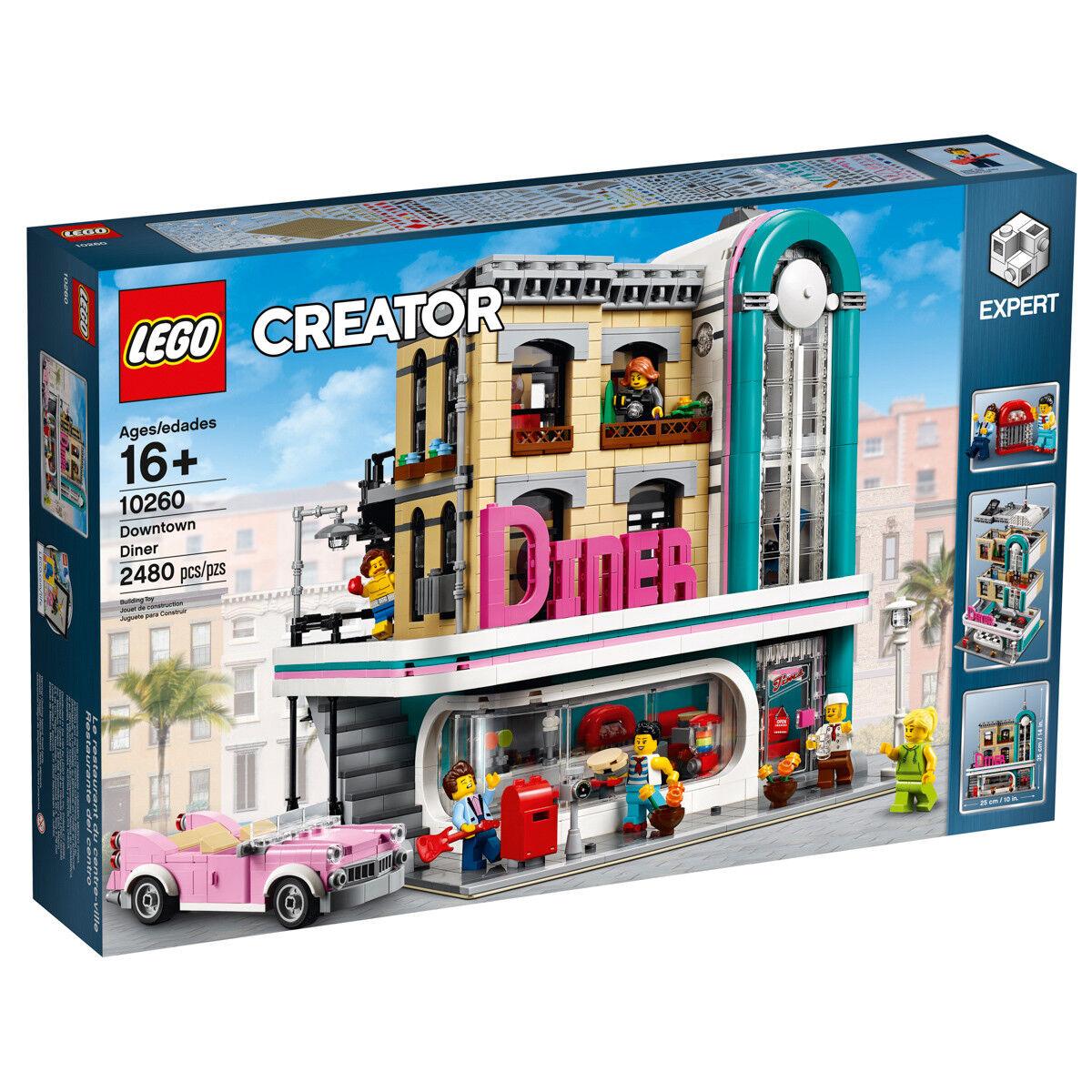 LEGO CREATOR Exclusive 10260 americana Diner ONU dîner au Centre-ville n1 18