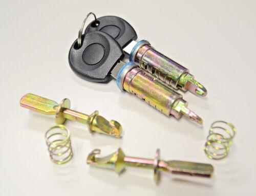 BARILLET cylindre de SERRURE AVANT avec cles 2pcs SEAT IBIZA//CORDOBA 93