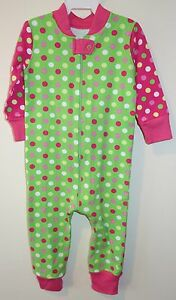 Baby & Toddler Clothing New ~ Kelly's Kids Jaden Ainsley Dot Sleeper Romper Size 3 Month