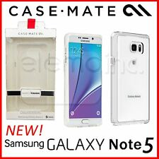 CASE MATE Naked Tough 2 layer Slim Clear Case Cover for Samsung Galaxy Note 5