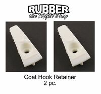 1968 1969 1970 1971 1972 1973 1974 1975 1976 Ford Coat Hook Retainers 2 Pc.