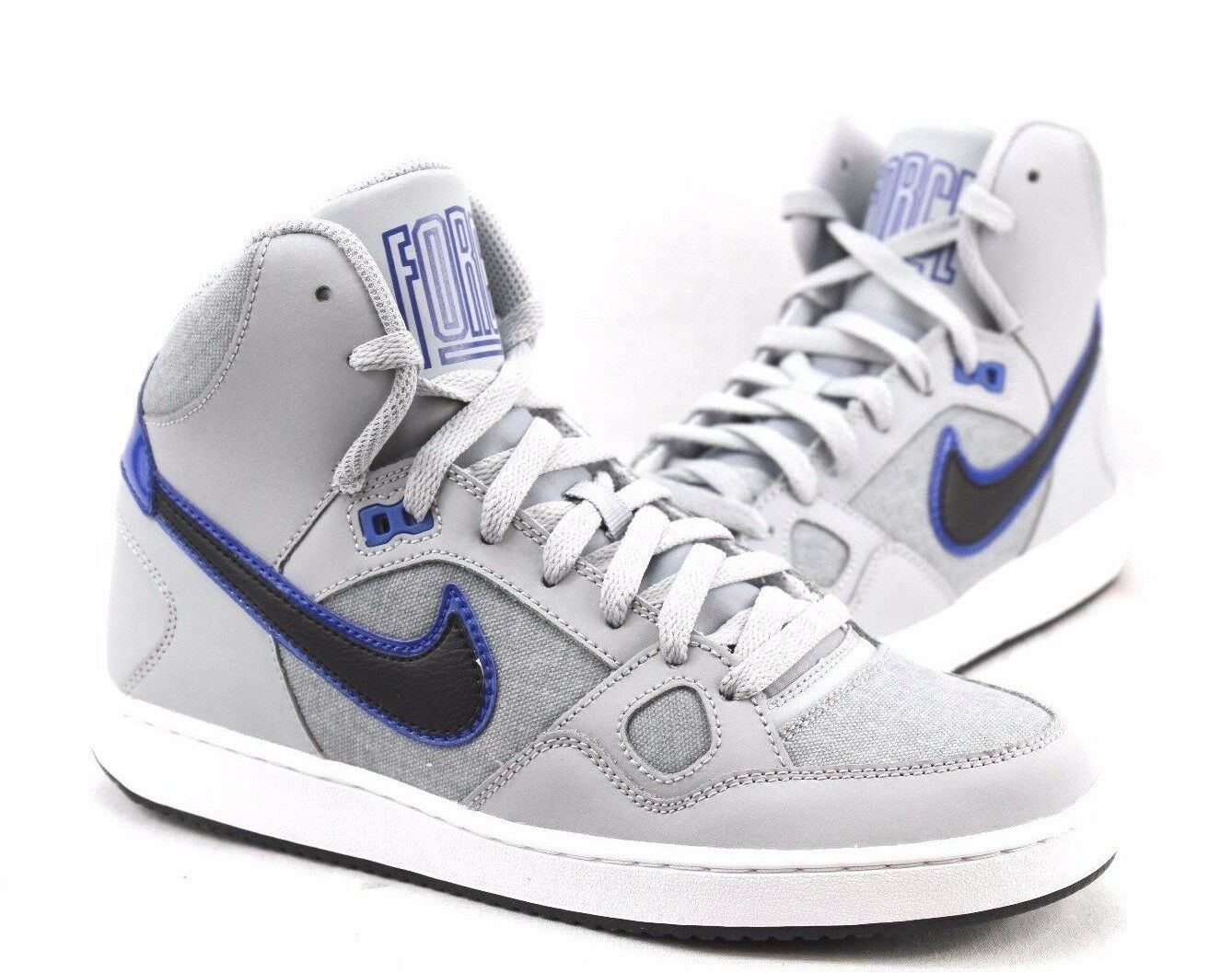 Nike Men's shoes 'SON OF FORCE' Mid Basketball Sneakers 616281-014 Men's Sz  9.5