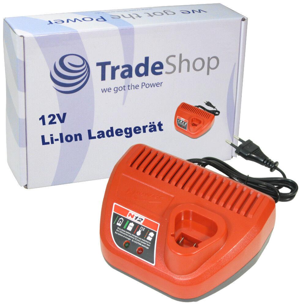 Premium 12V Li-Ion Akku Ladegerät für Milwaukee 2276-21 2276-21NST 2277-20