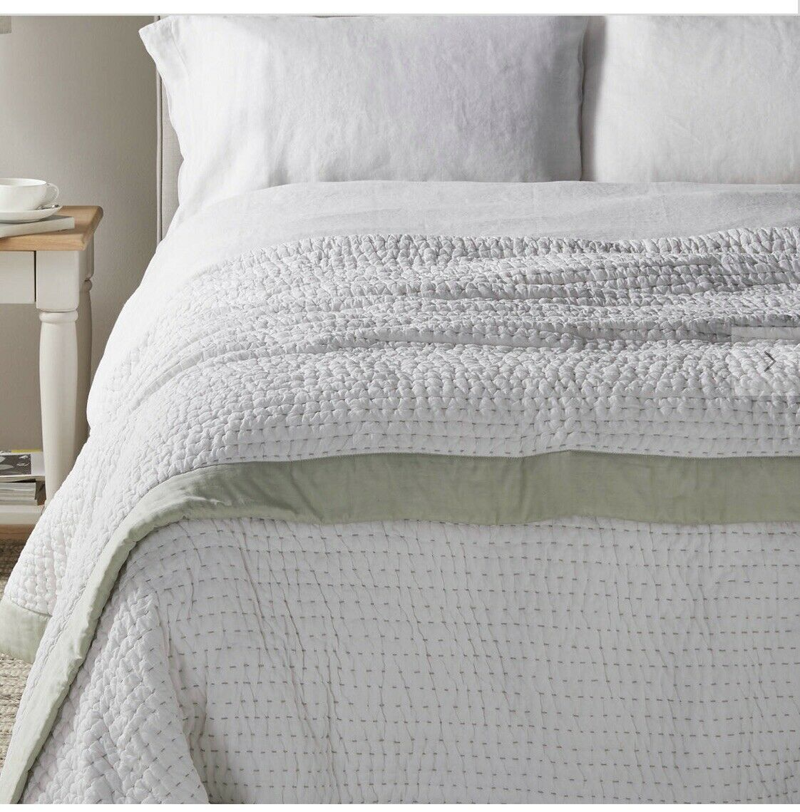 John lewis Throw Quilt bedcover bedspread 100% cotton lydia stich  120