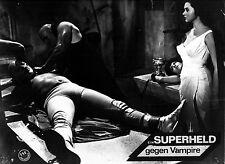 SUPERHELD GEGEN VAMPIRE * Aushangfoto #K - German LC - EL SANTO... 1962/67 RAR