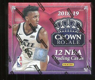 2018//19 Panini Crown Royale Basketball Factory Sealed Hobby Box