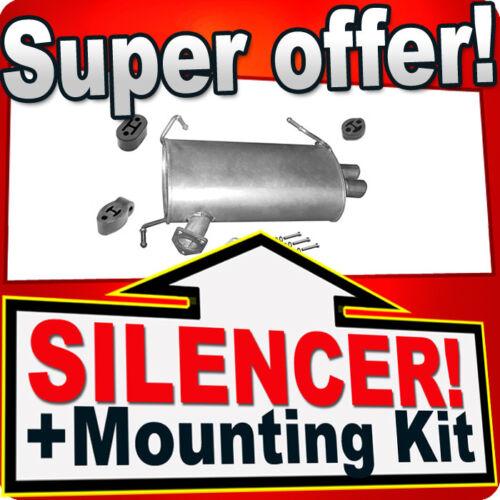Rear Silencer OUTLANDER II 2.0 OUTLANDER II C-CROSSER 4007 2.2 HDi Box APC