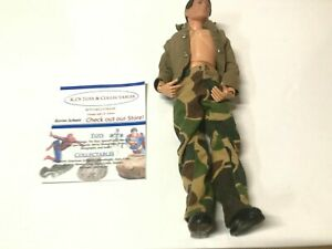 "Lot of 4 GI Joe 12/"" 1:6 scale Action Figures Stalker and More w// Some Clothes"
