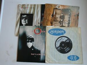 ROY-ORBISON-FAB-FOUR-4-x-7-034-singles-value-pack-4