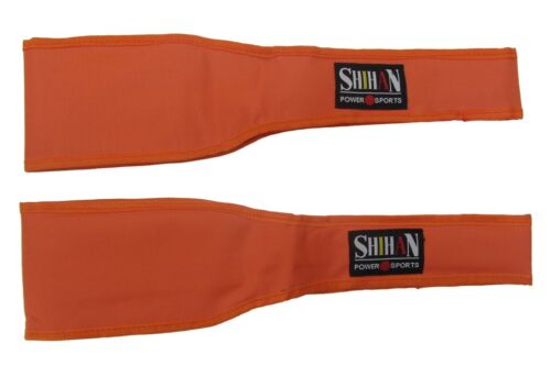 Eclipse ORANGE  AB SLINGS  Gym Chinning Bar Attachment Straps Fitness
