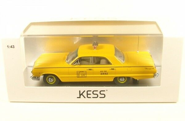Chevrolet Biscayne Nyc Taxi - New York (1963)