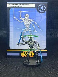 """Wizard Coast Star Wars Miniature Champion Lot of 2 Massassi Sith Mutant 2/"""" RPG"""