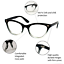 Cat-Eye-Vintage-Retro-034-Ombre-034-Women-Eyeglasses-BAMBI-Clear-Lens-SHADZ-GAFAS thumbnail 39