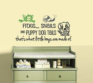 Frogs Snails And Puppy Dog Tails Girls Or Boys Are Made Of