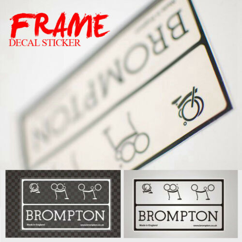 ACE Bicycle Sticker DIY Vinyl Decal Frame Logo Union Jack for Brompton Bike