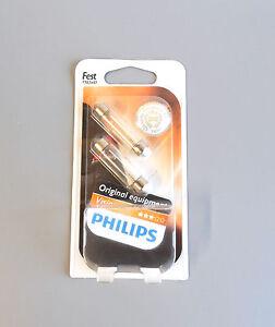 12866B2 Oświetlenie Philips SV8,5 12V 10W Soffitte Premium/Vison Blister 2st