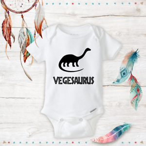 1e549ce506d2c Details about Veggie Baby Unisex Onesies Infant Baby Gifts Dinosaur All  Natural Organic New