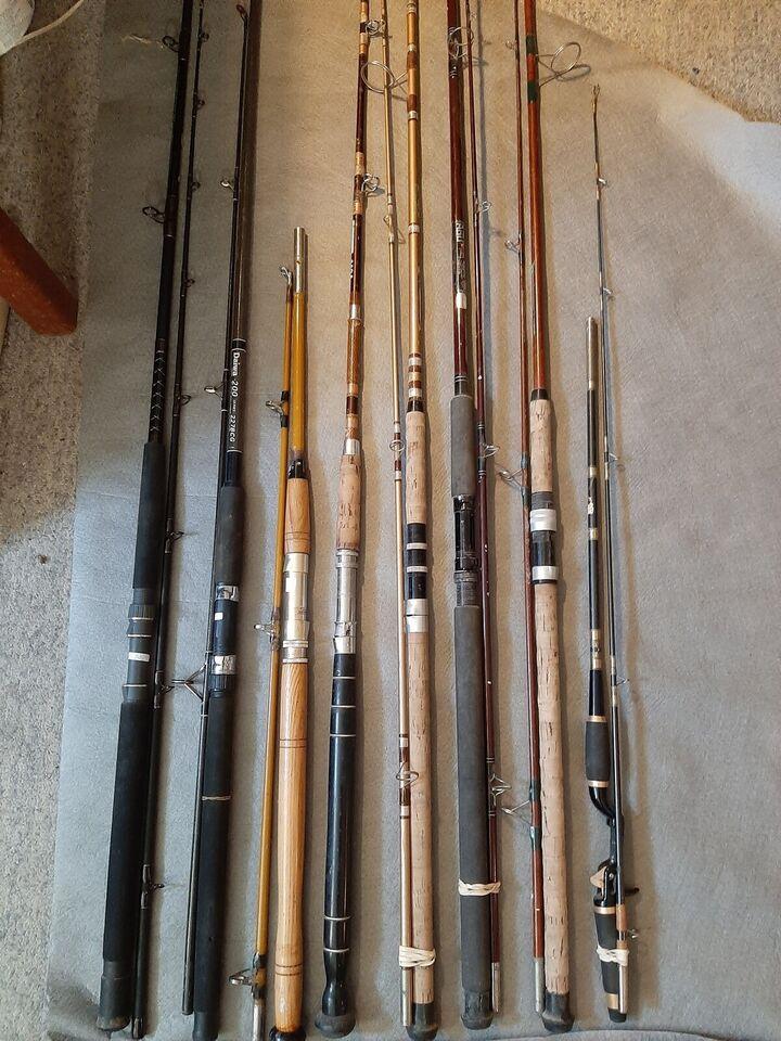 Fiskestang, Forskellige
