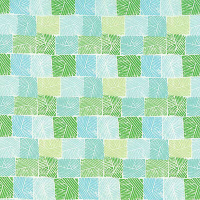 Horizon 27196-11 Green Field Priced Per ½ Yard Moda by Kate Spain Quilt Fabric