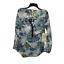 thumbnail 2 - New Anthropologie Cyrena S Tunic Top Blouse Shirt Floral Plaid Blue White Hi Low