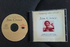 """JIM CROCE """"SIMPLY THE BEST"""" CD  Time In A Bottle - THE GREATEST HITS    VGC"""