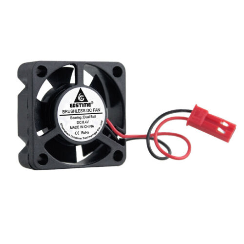 2pcs 8.4V 30mm 30x10mm JST Connector Motor Brushless Fan Cooling RC Car project