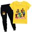 2020 New Kids ROBLOX T-Shirt+pants Boys Girls Casual Short Sleeve 2-14 Years UK