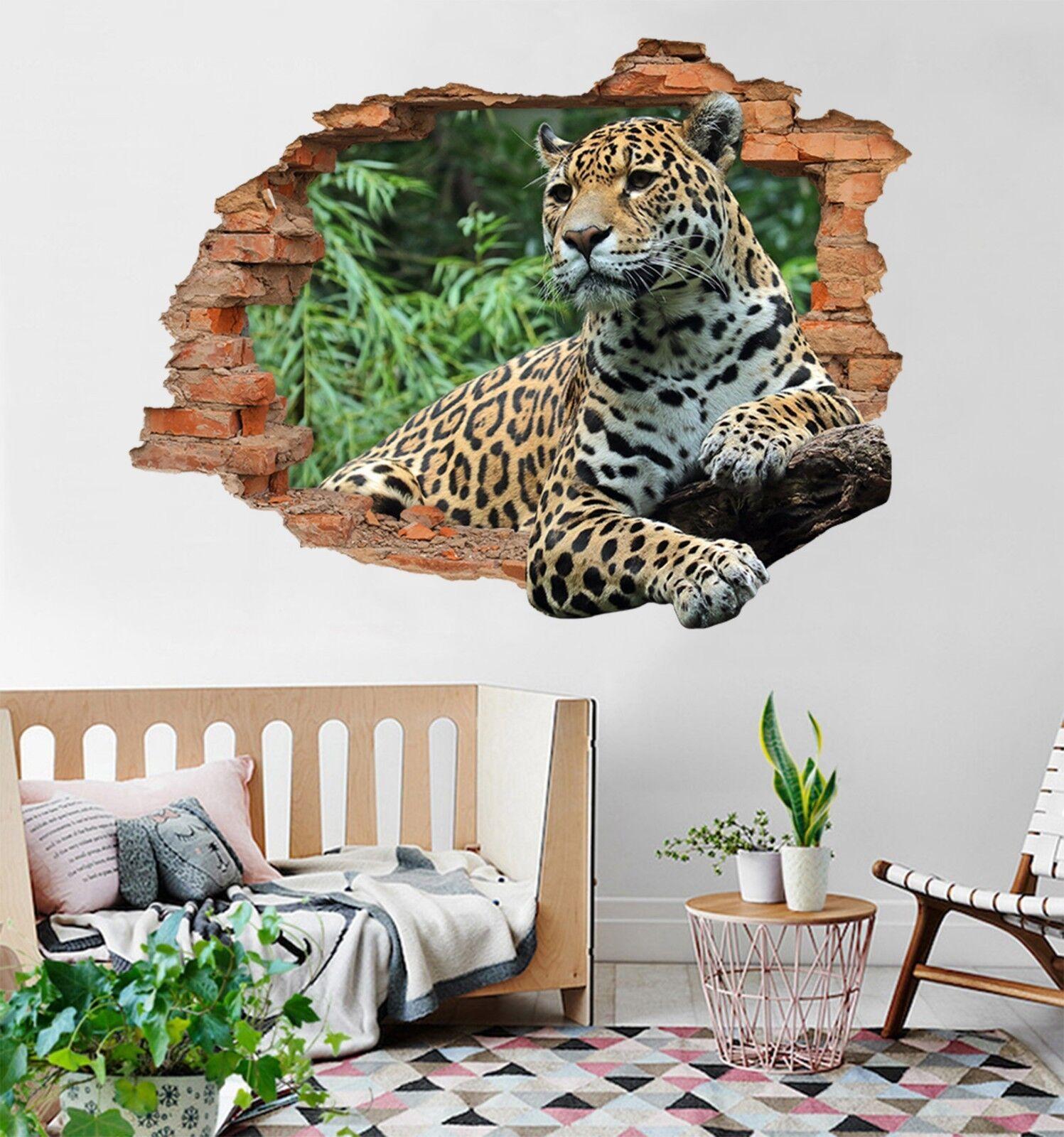 3D Leopard 189 Mauer Murals Mauer Aufklebe Decal Durchbruch AJ WALLPAPER DE