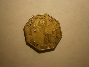 NEW-YORK-CITY-VINTAGE-PEEP-SHOW-TOKEN-034-COMBINED-SHIPPING-034