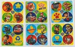 80-Paw-Patrol-Mini-Stickers-1-2-034-Round-Each-Party-Favors