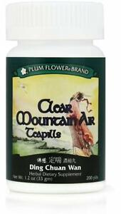 Plum-Flower-Clear-Mountain-Air-Teapills-Ding-Chuan-Wan-200-ct