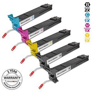 5PK-BLACK-amp-COLOR-HY-Toner-Set-for-Konica-Minolta-MagiColor-4650DN-4690MF-4695MF