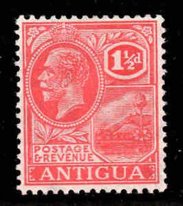 Antigua-1921-KGV-1-D-Colore-Rosso-Carminio-Wmk-Msca-Sg-68-come-Nuovo