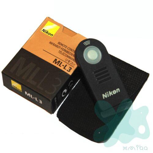 NIKON ML-L3 infrarrojos infrarrojo inalámbrico de control remoto del obturador para NIKON D7000
