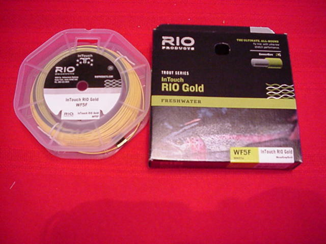 Rio In Touch gold WF8F Fly Line GREAT NEW
