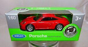 Welly-Porsche-911-ROJO-EN-1-60-NUEVO-Y-EMB-orig