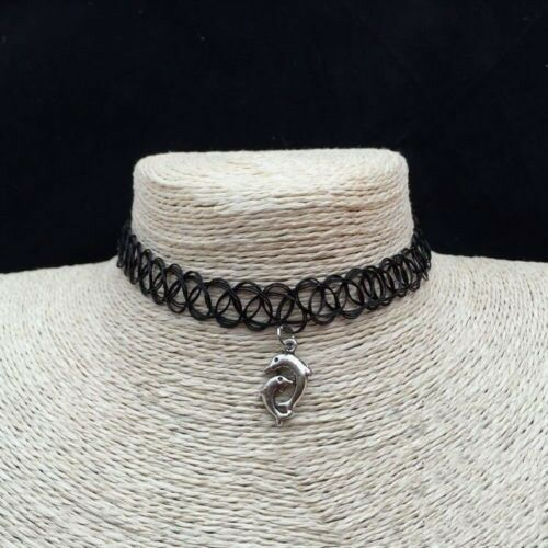 Yin and Yang Stretch Choker Necklace Boho Jewellery Gypsy Bohemian Ethnic A071