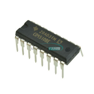 5PCS-CD4510-CD4510BE-CMOS-PRESETTABLE-UP-DOWN-COUNTERS-DIP16-IC