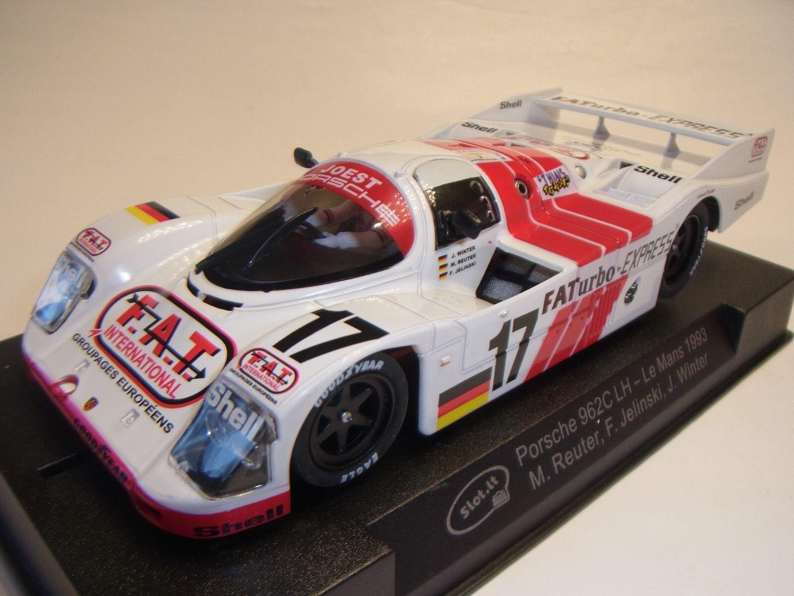 Spielzeug Slot.it Ca03h Porsche 956c Lh #17 Le Mans 1993 Reuter-jelinski-winter Mb