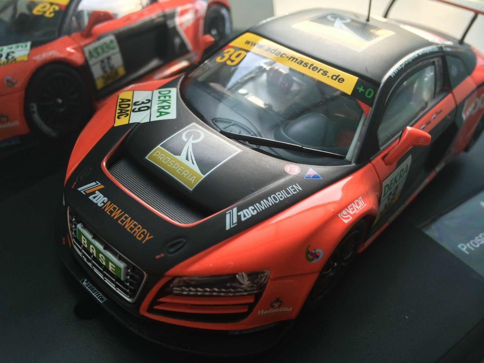 Carrera Evolution 27395 Audi R8 LMS Prosperia Team Brinkmann UHC Speed NIP