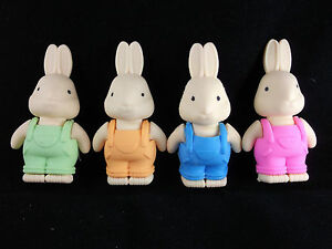 8-COLOURFUL-RABBIT-ERASERS-RUBBERS-PARTY-BAG-TOY-GIFTS-FAVOURS