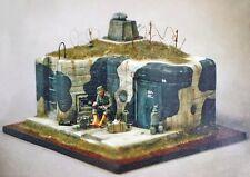 Verlinden 54mm 1/35 Westwall Casemate with Renault Turret WWII 119 (MDA 35108)