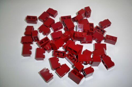 Lego Stein 3004,1x2 50 Stück Neu** dunkel rot