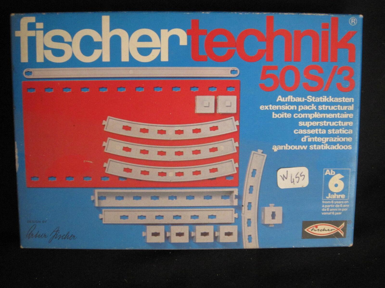 W455 FISCHER TECHNIK Réf. 50S 3 2 30162 5 TRES BON ETAT