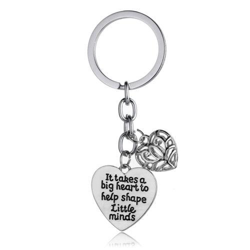Gift For Dad Mom Lover Keyring Inspirational Family Friends Key Chains Men Women