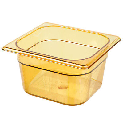 1-11/16 Quart Logical Rubbermaid Fg205p00bla Sixth Size Multi-use Hot Food Pan Black Finely Processed