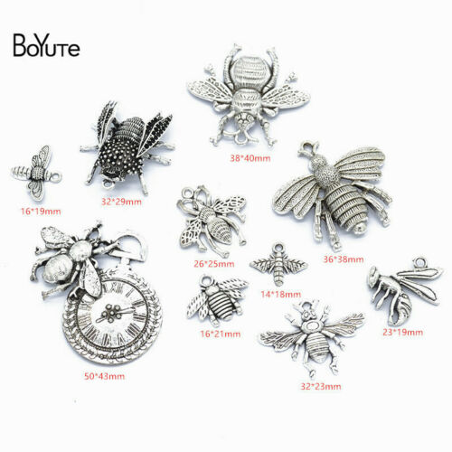 BoYuTe Factory Direct Wholesale Mix 23 Styles Tibetan Silver Star Moon Sun