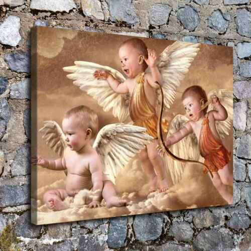 Three Angels HD Canvas prints Painting Home Decor Picture Room Wall art Poster